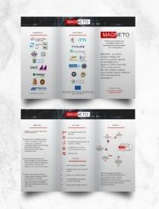 Τρίπτυχα Διαφημιστικά Φυλλάδια με ψηφιακή εκτύπωση