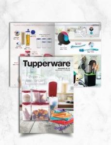 Σχεδιασμός Διαφημιστικού Φυλλαδίου για την Tupperware