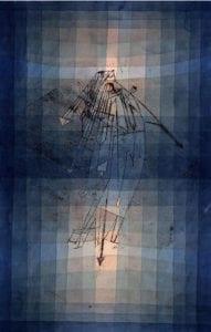 Αφίσα του Paul Klee από το έργο του Dance of Moth
