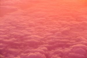 Αφίσα Colored Clouds