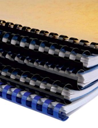 Βιβλιοδεσία με πλαστικό σπιράλ