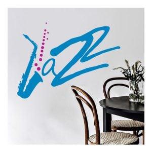 Αυτοκόλλητο τοίχου jazz
