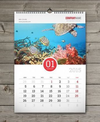 Εκτύπωση ημερολογίων τοίχου