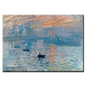 Πίνακας Claud Monet Impression Sunrise 1872