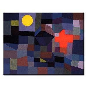 Πίνακας Paul KleeFire at Full Moon 1933