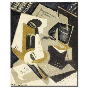 Πίνακας María Blanchard - Cubist Composition 1918